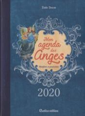 Mon agenda des anges ; bienfaits et protection (édition 2020) - Couverture - Format classique