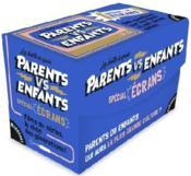 La boîte de quiz parents vs enfants ; spécial écrans - Couverture - Format classique