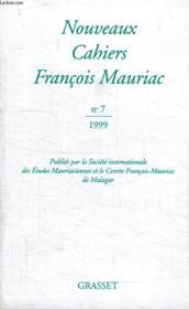 Nouveaux cahiers François Mauriac t.7 - Couverture - Format classique