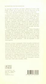 La Societe Paysagiste - 4ème de couverture - Format classique