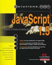 Solutions.Net Javascript 1.5 - Intérieur - Format classique
