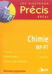 Chimie ; MP-PT - Intérieur - Format classique