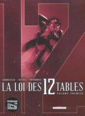La loi des 12 tables t.1 - Intérieur - Format classique