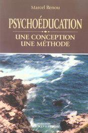 Psychoeducation - une conception - une methode - Intérieur - Format classique