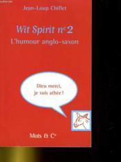 Wit spirit t.2 - Couverture - Format classique