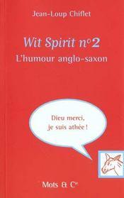 Wit spirit t.2 - Intérieur - Format classique