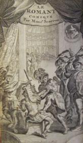 Le Romant Comique [i.e. Le Roman Comique]. - Couverture - Format classique