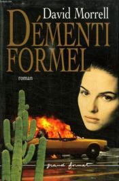 Dementi Formel. - Couverture - Format classique