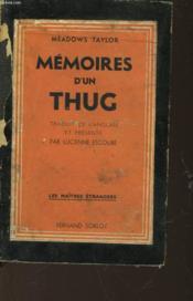 Memoires D'Un Thug - Couverture - Format classique