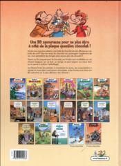 Les fondus du chocolat - 4ème de couverture - Format classique