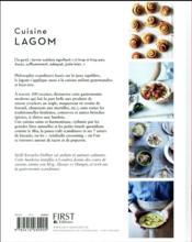 Cuisine lagom ; une cuisine en harmonie - 4ème de couverture - Format classique