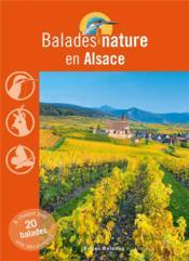 BALADES NATURE ; en Alsace - Couverture - Format classique