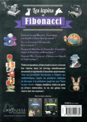 Les lapins de Fibonacci ; 50 expériences qui ont révolutionné les mathématiques - 4ème de couverture - Format classique