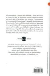 Crénom, Baudelaire ! - 4ème de couverture - Format classique