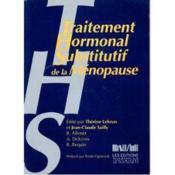 Traitement Hormonal Substitutif De La Menopause - Couverture - Format classique