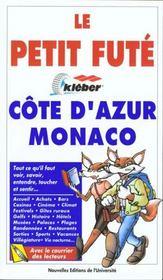 Cote d'azur monaco 1998, le petit fute (edition 2) - Intérieur - Format classique