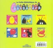Barbapapa - baby-sitter - 4ème de couverture - Format classique