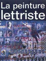 La peinture lettriste - Intérieur - Format classique