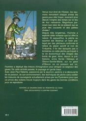 Saumon, seigneur des gaves - 4ème de couverture - Format classique