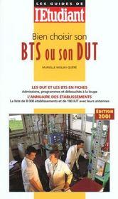 Bien Choisir Son Bts Ou Dut 2001 - Intérieur - Format classique