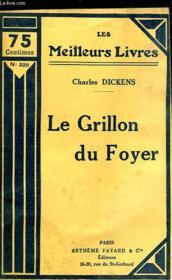 Le Grillon Du Foyer - Couverture - Format classique