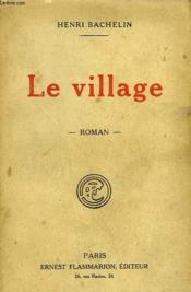 Le Village. - Couverture - Format classique
