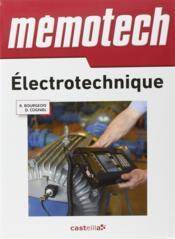 Memotech ; Electrotechnique - Couverture - Format classique