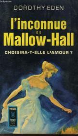 L'Inconnue De Mallow-Hall - Samantha - Couverture - Format classique