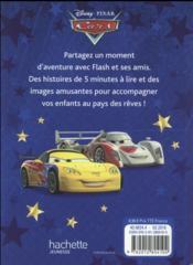 5 minutes pour s'endormir ; Cars ; 12 histoires avec Flash et Martin - 4ème de couverture - Format classique