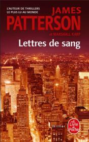 Lettres de sang - Couverture - Format classique