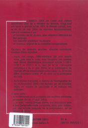 Code Civil 2005 - 4ème de couverture - Format classique