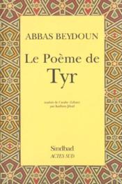 Le poème de Tyr - Couverture - Format classique