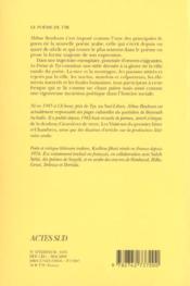Le poème de Tyr - 4ème de couverture - Format classique