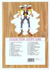 Lucky Luke t.31 ; tortillas pour les Dalton - 4ème de couverture - Format classique