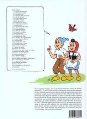 Sylvain et sylvette t.23 ; le génie de la forêt - 4ème de couverture - Format classique