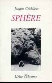 Sphere - Couverture - Format classique