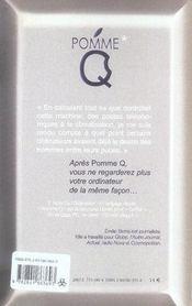 Pomme q. - 4ème de couverture - Format classique