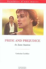 Pride and prejudice - Intérieur - Format classique
