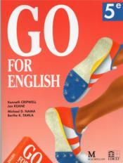 Go for english 5e (afrique centrale) - Couverture - Format classique