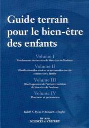 Guide terrain pour le bien-etre des enfants - 4 tomes - Couverture - Format classique