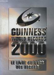 Le Livre Guiness Des Records 2000 - Couverture - Format classique