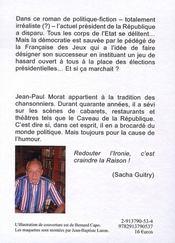 La française des gueux - 4ème de couverture - Format classique