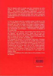 Livre des signaux - 4ème de couverture - Format classique