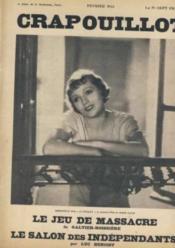 Le crapouillot / fevrier 1933 - Couverture - Format classique