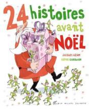 24 histoires avant Noël - Couverture - Format classique