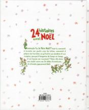 24 histoires avant Noël - 4ème de couverture - Format classique