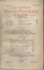 Collection La Nouvelle Revue Francaise N° 236. Le Dict De Padma. - Couverture - Format classique