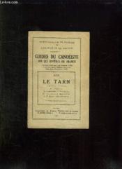 Guides Du Canoeiste Sur Les Rivieres De France. Xxx: Le Tarn. - Couverture - Format classique