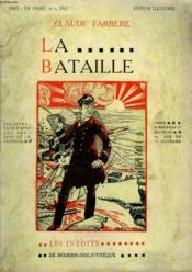 La Bataille. Collection Modern Bibliotheque. - Couverture - Format classique