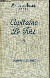 Marie Des Isles V - Capitaine Le Fort - Tome I - Couverture - Format classique